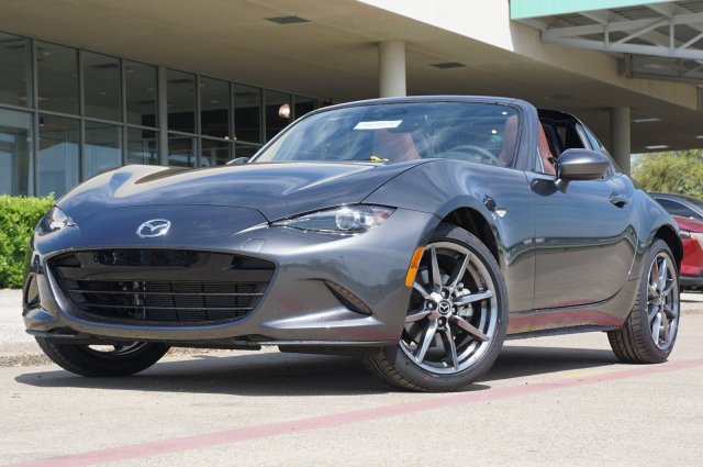 New 2019 Mazda MX-5 Miata RF Grand Touring RWD Convertible