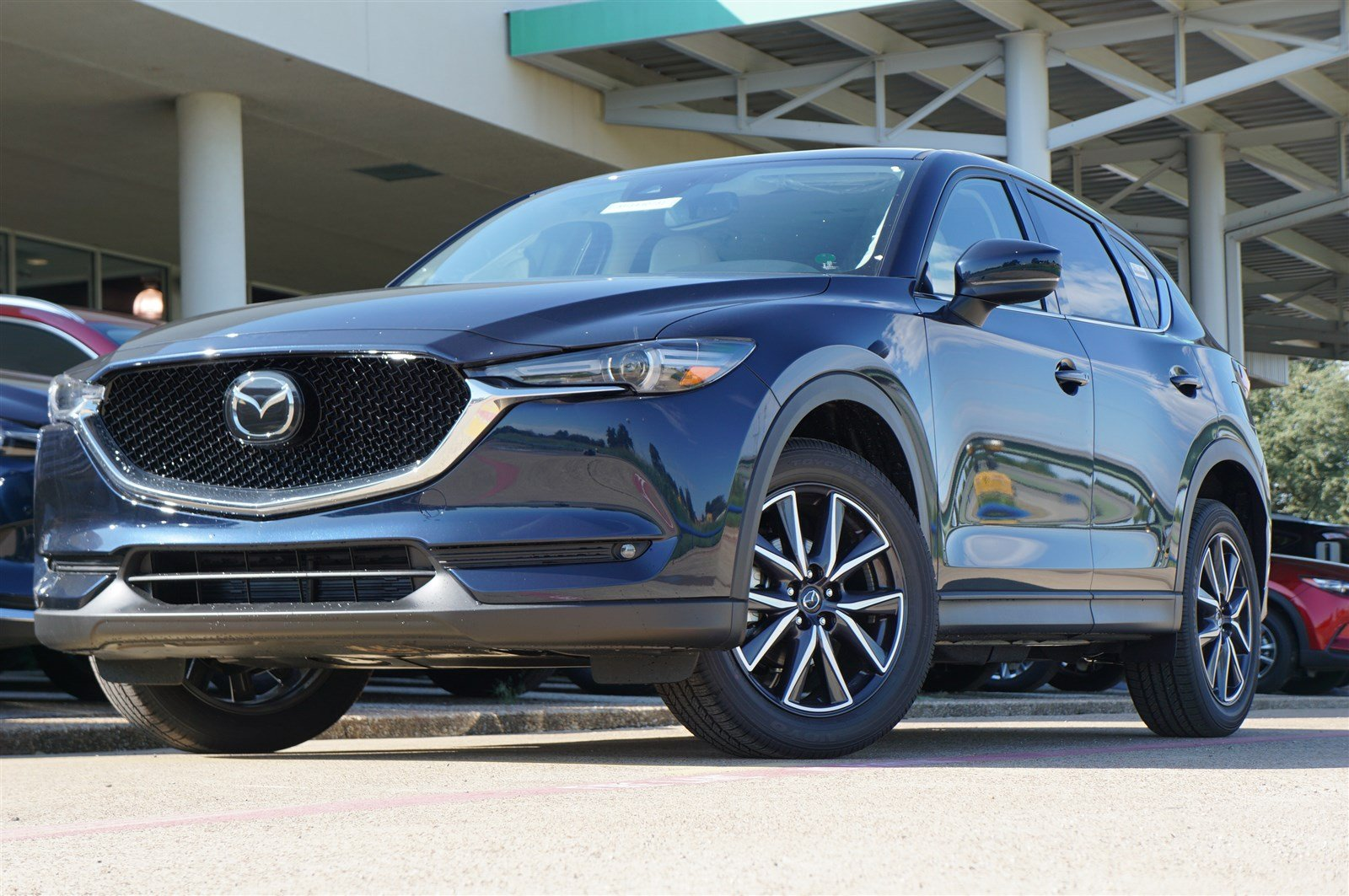 New 2018 Mazda Cx 5 Grand Touring Sport Utility In Irving Mj1430731